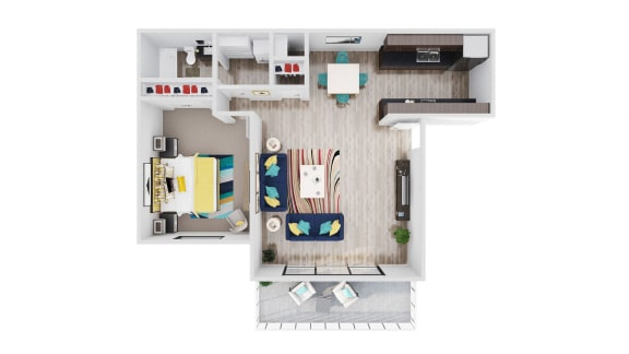 98Hundred Apartments Sycamore Floor Plan
