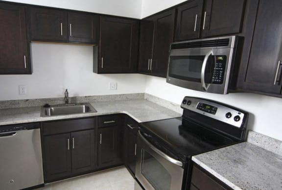 newly renovated apartments at Crescent Centre Apartments in Downtown Louisville, KY
