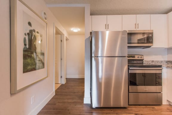 Refrigerator And Kitchen Appliances at -The Lodge-, Boulder, CO, 80303