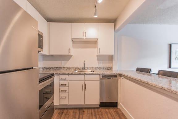 Fully Furnished Kitchen at -The Lodge-, Boulder, 80303