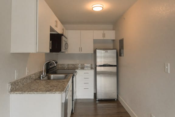 Kitchen Unit at -The Lodge-, Boulder, CO