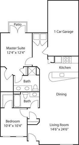 G1- 55+ Adult Living Floorplan at Reunion at Redmond Ridge, 11315 Trilogy Pkwy NE