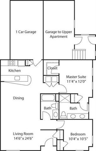 G2- 55+ Adult Living Floorplan at Reunion at Redmond Ridge, Redmond, WA