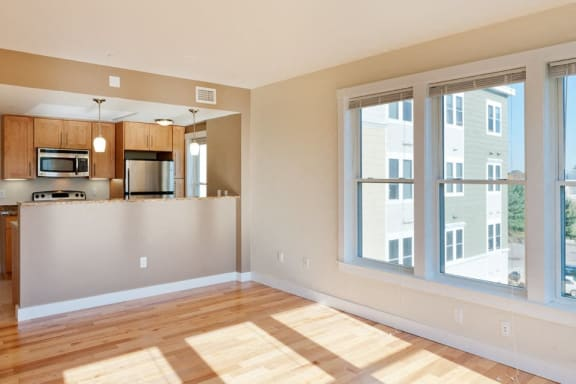 Hardwood Floors at Park87, Cambridge, 02138