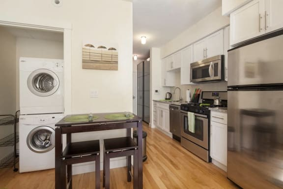 Washer and Dryer at 603 Concord, Cambridge, MA 02138