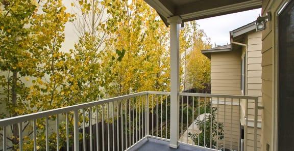 private balcony or balcony at Harvest Park, Santa Rosa, CA,95404