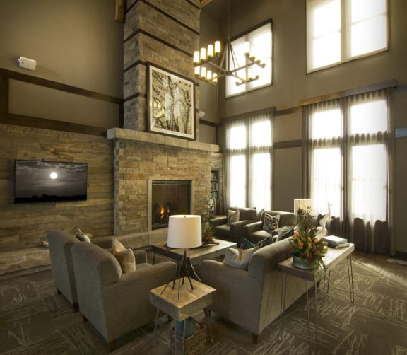Expansive Lobby Area at The Trails at Timberline, Colorado, 80525