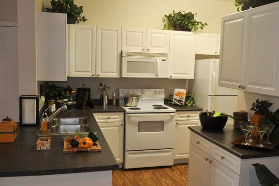Luxury Apartments Thornton CO with Full Kitchen and Microwave, Dishwasher, Garbage Disposal