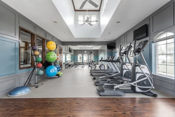 24 Hour Fitness Center at Maple Knoll Apartments, Westfield