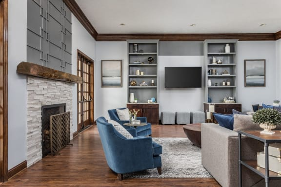 Remodeled Resident Clubhouse at Maple Knoll Apartments, Westfield, IN, 46074