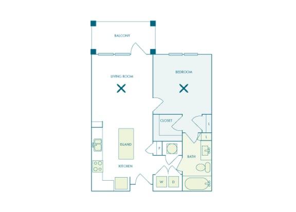 Nona Park Village - A1 - Foxtail - 1 bedroom - 1 bath
