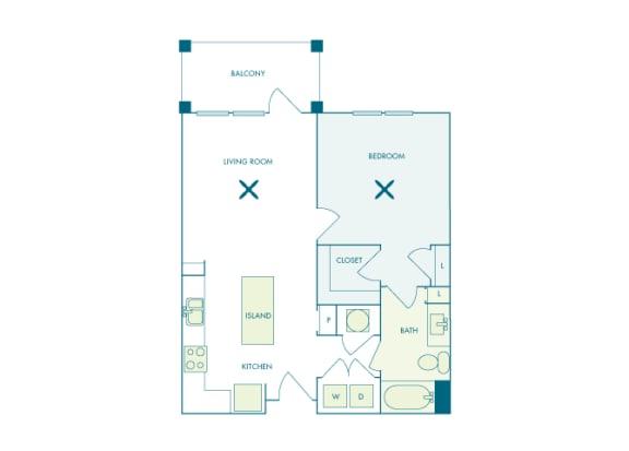 Nona Park Village - A2 - Camellia - 1 bedroom - 1 bath