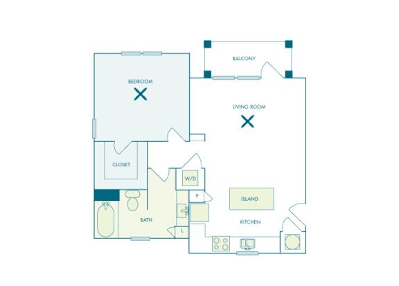 Nona Park Village - A3 - Hibiscus - 1 bedroom - 1 bath