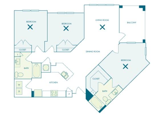 Nona Park Village - C2 (Water Lily) - 3 bedroom - 2 bath