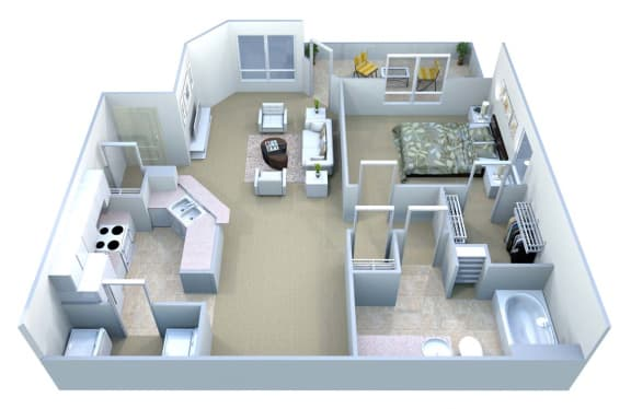 Walton Centennial Ansley Floor Plan, Roswell GA