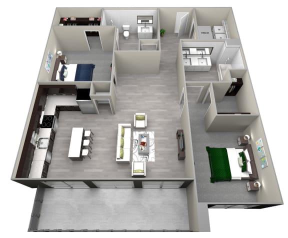 Chattahoochee Riverside B4 Floor Plan