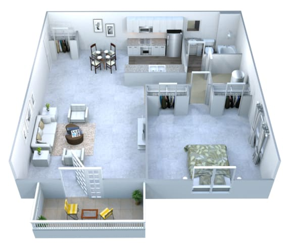 Walton Grove A Floor Plan Layout, Smyrna GA