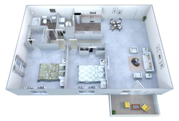 Walton Grove B Floor Plan Layout, Smyrna GA