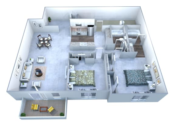 Walton Grove D Floor Plan Layout, Smyrna GA