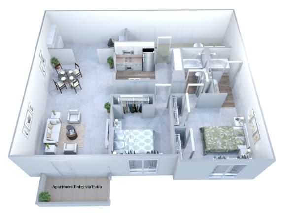 Walton Grove E Floor Plan Layout, Smyrna GA
