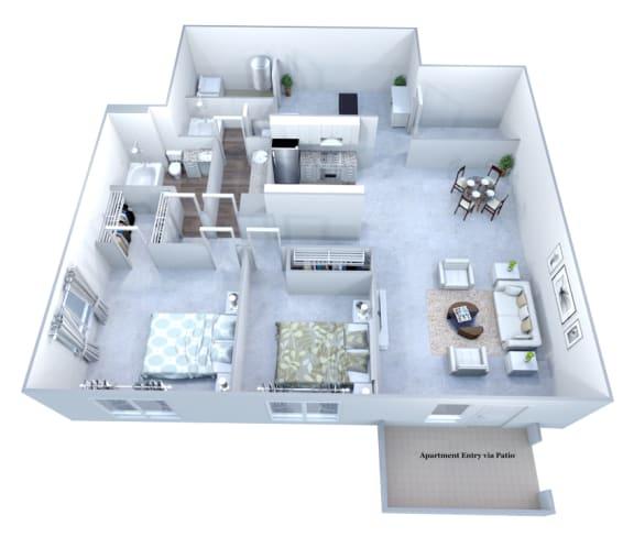 Walton Grove F Floor Plan Layout, Smyrna GA