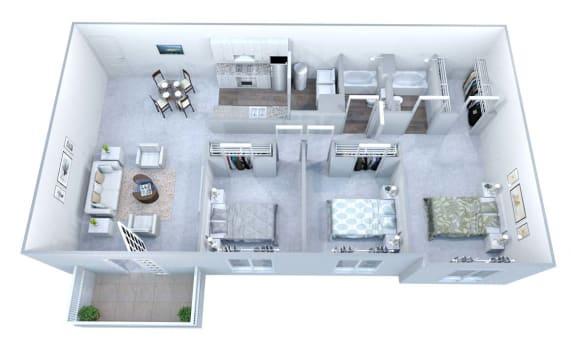 Walton Grove G Floor Plan Layout, Smyrna GA