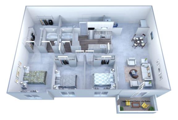 Walton Grove I Floor Plan Layout, Smyrna GA