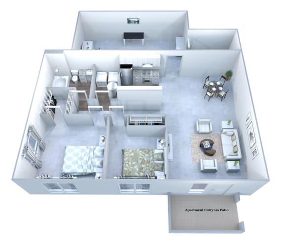 Walton Grove J Floor Plan Layout, Smyrna GA