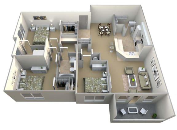 Camden Floor Plan Layout
