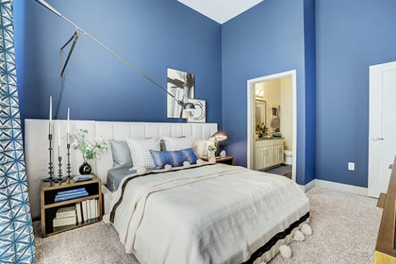 Plush Carpeting in Bedrooms at Avant Apartments, Carmel, IN