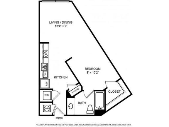 Floor Plan  Floorplan at The Ridgewood by Windsor, 4211 Ridge Top Road, Fairfax,