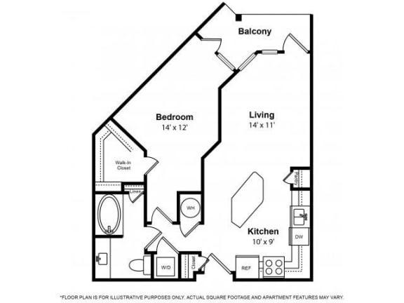 Floor Plan  Floorplan at The Ridgewood by Windsor, 4211 Ridge Top Road, VA