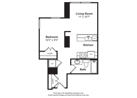 1 2 Bedroom Apartments In South Lake Union Cirrus