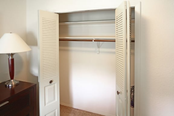 Ample Closet Space at Trappers Cove Apartments in Lansing, MI