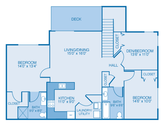 Washington 2nd Floor at Oak Hill Apartments and Townhomes, Rensselaer, 12144