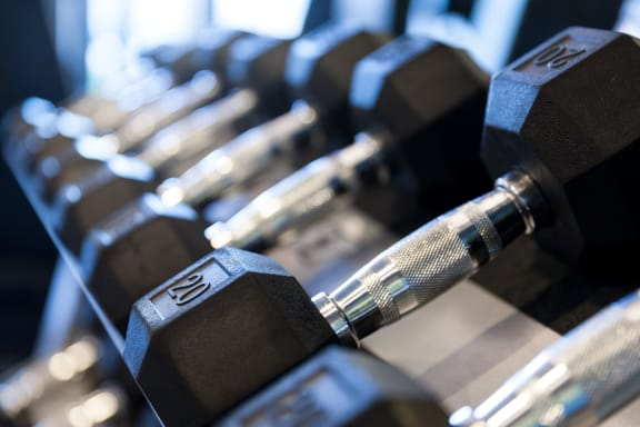 Free Weights at Berkshire Medical District, Texas, 75219