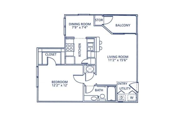 Bartow Floor Plan at Berkshire at Citrus Park, Florida, 33625