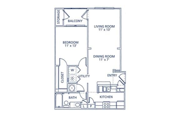 Jasper Floor Plan at Berkshire at Citrus Park, Tampa, FL, 33625