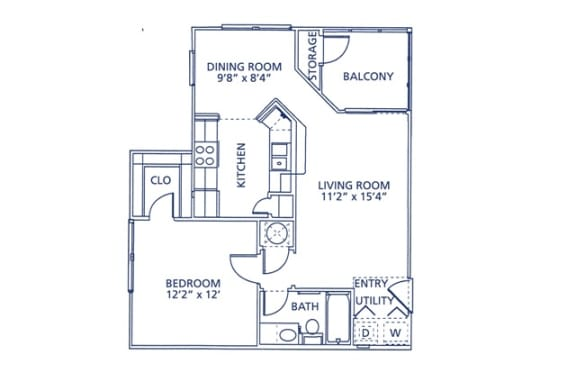 Wesley Floor Plan at Berkshire at Citrus Park, Tampa