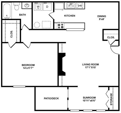 The Berkley Floor Plan at The Berkshires at Vinings, Smyrna, 30080