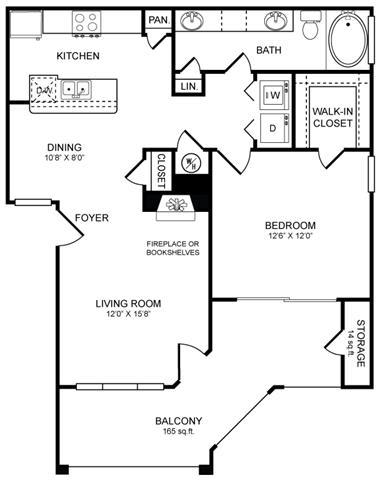 Floor Plan  A4.1 Floor Plan at San Marin, Austin