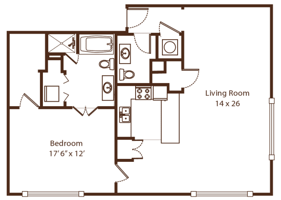 Floor Plan  Soho 7