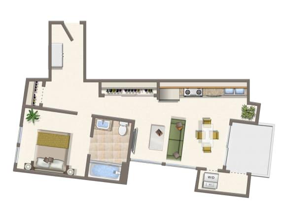 Floor Plan  1x1J-315-415-515