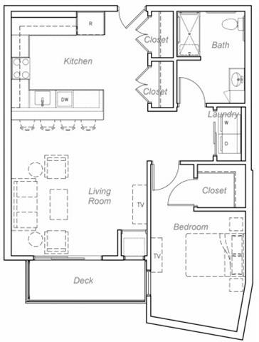 Floor Plan  Briggs-R Floor plan at Overlook on the Creek, Minnetonka, MN