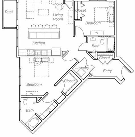 Floor Plan  Minnehaha-AA Floor plan at Overlook on the Creek, Minnetonka