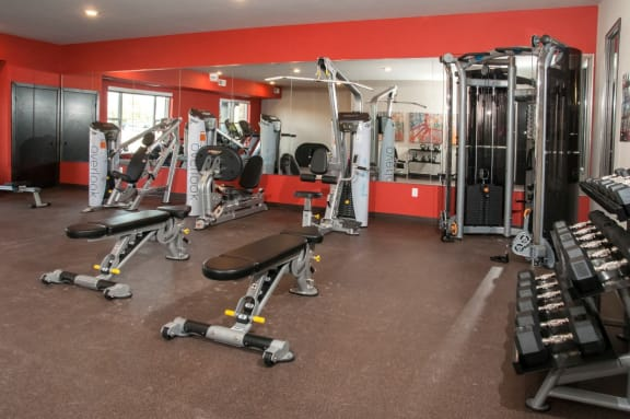 24 hour Fitness Center at Overlook on the Creek, Minnesota