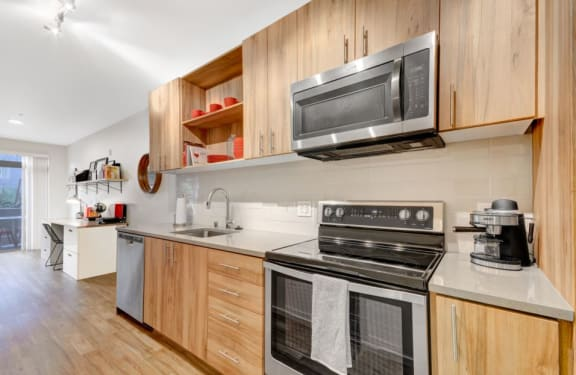 Kitchen Cabinets at The Whittaker