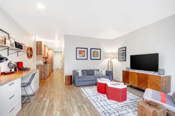 Spacious Living Room at The Whittaker