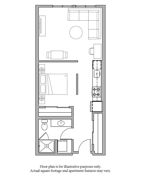 O2 Floor Plan at The Whittaker