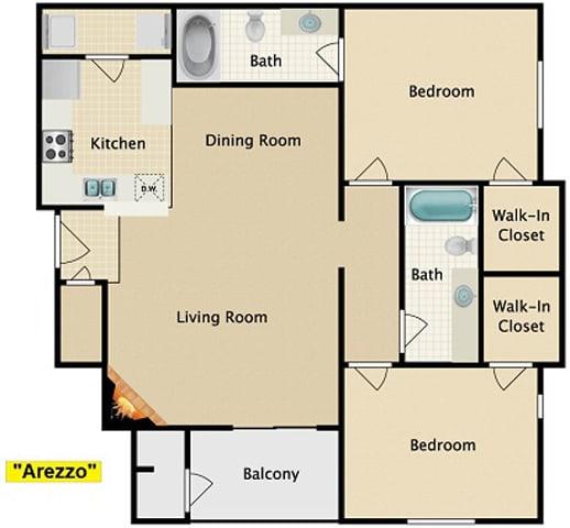 Floor Plan  Arezzo